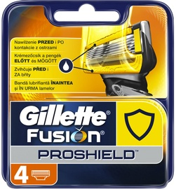 Gillette ProShield Blade Refill 4Pcs