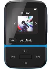 Музыкальный проигрыватель Sandisk Sport Go Blue, 16 ГБ