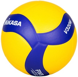 Mikasa Training Volleyball V320W Yellow/Blue