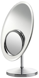 Axentia Standing Mirror Chrome