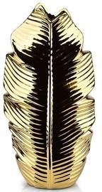 Mondex Leaf Gold Vase 36.5cm