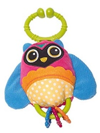 Oops Soft Pendant Rattle Toy Owl 11011.12