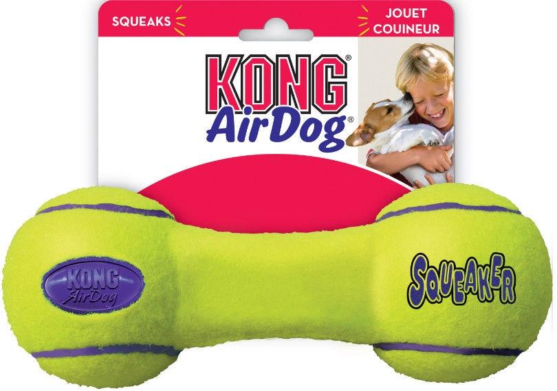 Kong Air Kong Squeaker Dumbbell Small