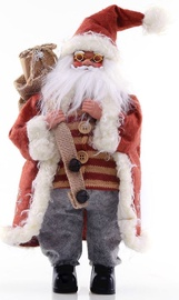 DecoKing Christmas Decoration Santa Claus Red 43cm