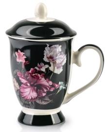 Mondex Iris Cup With Infuser Black 320ml