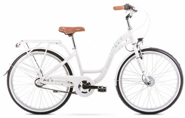 """Jalgratas Romet Panda 2.0 White, 13"""", 24"""""""