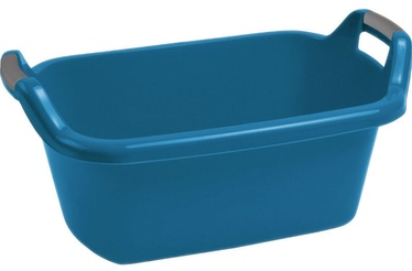 Curver Oval Bowl With Handles 35L Blue