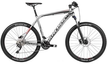 """Jalgratas Kross Level R6 M 27.5"""" Graphite Black Red 17"""