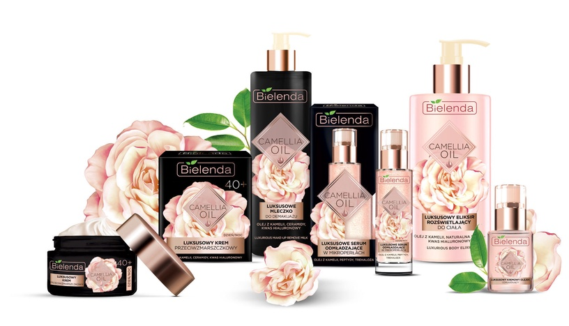 Bielenda Camellia Oil Luxurious Anti Wrinkle 40+ Cream 50ml