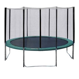 Home4you Trampoline With Enclousure D426cm Green
