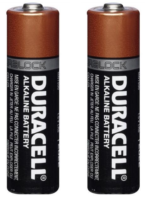 Duracell Alkaline Long Lasting Power Batteries 2xAA