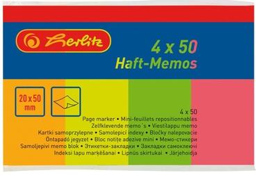 Herlitz Page Marker Flags Neon 00790642