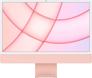 "Lauaarvuti Apple iMac / MGPN3ZE/A / 24"" Retina 4.5K / M1 8-Core GPU / 8GB RAM / 512GB Pink LT"