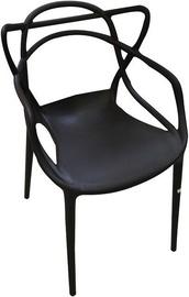 Стул для столовой Verners Bordo Black, 560x830x525 mm