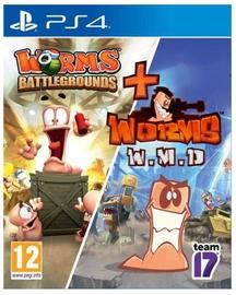 Worms Battlegrounds + W.M.D. PS4