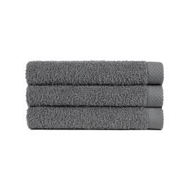 Lasa Pure Gris Towel 70x140cm Dark Grey