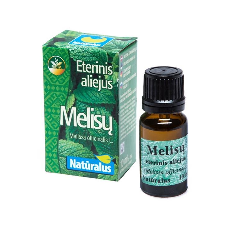 """Melissi eeterlik õli, """"Mėta"""", 10 ml"""