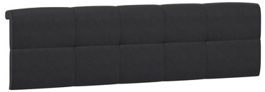 Black Red White Tetrix Headboard Upholstered Cover 160 Black
