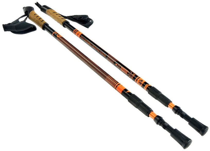 Bjorn Scout Walking Poles Orange