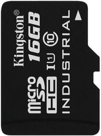 Kingston 16GB microSDHC UHS-I Class 10 Industrial Temperature Card