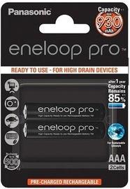 Panasonic Eneloop Pro Rechargeable Battery 2x AAA 930mAh