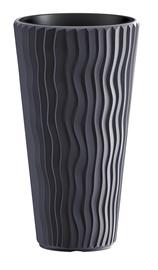 Plastist lillepott Prosperplast Sandy Slim, Ø39 cm