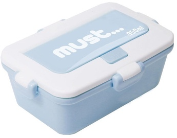 Plastic Set 3in1 Lunch Box 950ml Blue