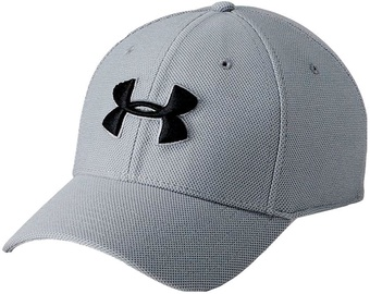Under Armour Cap Men's Heathered Blitzing 3.0 Cap 1305037-035 Grey L/XL