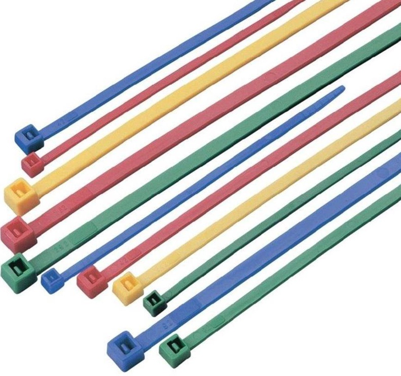 Techly Nylon Cable Ties 200pcs Multicolor