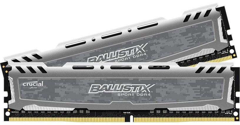 Crucial Ballistix Sport 16GB PC4-19200 2400MHz DDR4 CL16 KIT OF 2 BLS2C8G4D240FSB