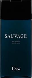Гель для душа Christian Dior Sauvage, 200 мл