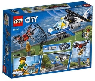 Конструктор Lego City Sky Police Drone Chase 60207