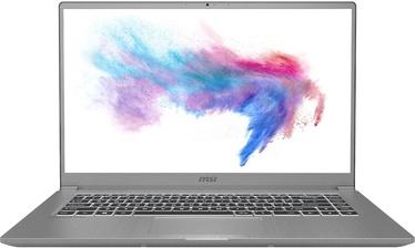 """Sülearvuti MSI Modern 15 Urban Silver 15 Urban Silver A10M-497PL PL Intel® Core™ i7, 8GB/512GB, 15.6"""""""