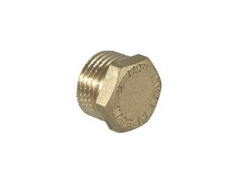 TDM Brass End Cap With External Thread 1 1/2'' ART 106