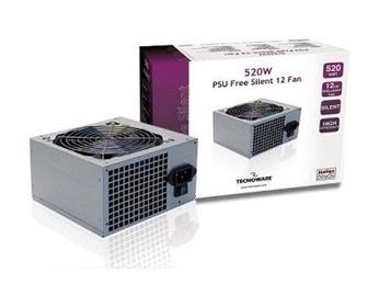 Tecnoware Free Silent PSU 520W ATX FAL525FS12