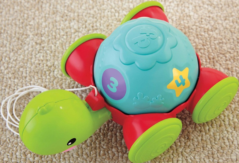 Fisher Price Pull Along Turtle Y8652