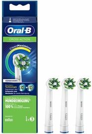 Braun Oral-B Cross Action Toothbrush Heads CleanMaximizer 3pcs
