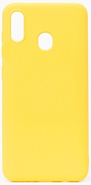 Evelatus Soft Touch Back Case For Samsung Galaxy A20E Yellow