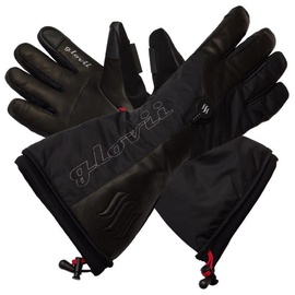 Glovii Heated Ski Gloves M Black