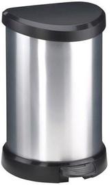 Prügikast Curver Deco Silver, 20 l