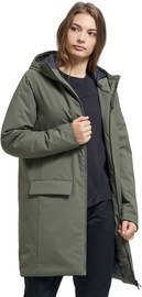 Audimas Long Water Resistant Parka Olive XL