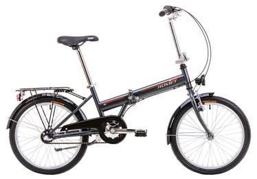 """Jalgratas Romet Wigry 2 20"""" Graphite Orange 19"""