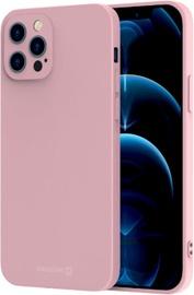 Swissten Soft Joy Silicone Case Apple iPhone 12 / 12 Pro Pink