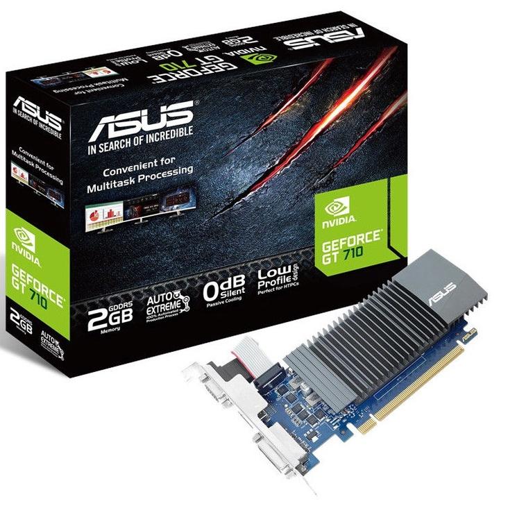 Asus GeForce GT710 2GB GDDR5 PCIE GT710-SL-2GD5