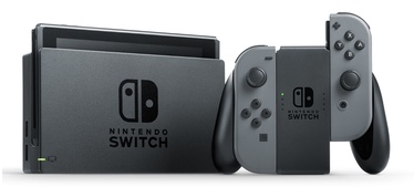 Nintendo Switch Grey + Mario Kart 8 Deluxe