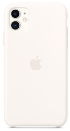 Apple Silicone Back Case For Apple iPhone 11 White