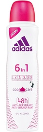 Adidas 6in1 Cool & Care 150ml Antiperspirant Spray