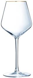 Eclat Ultime Universal Gold Rim Glass 47cl 4pcs