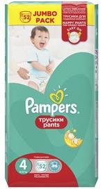 Mähkmed Pampers Pants, 4, 52 tk