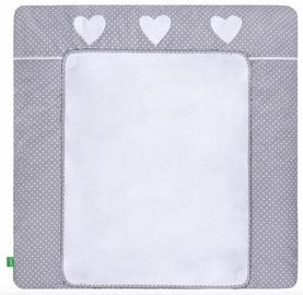 Lulando Changing Table Mat White Dots/Heart 75x80cm